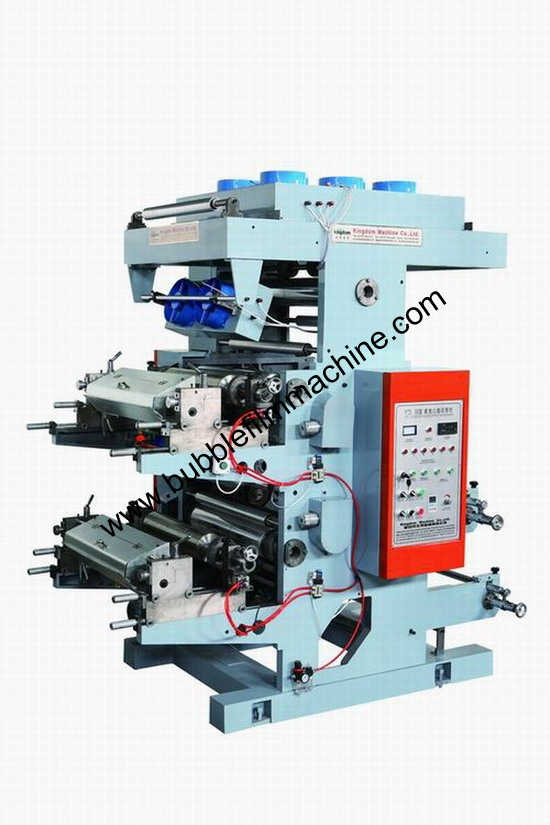 Two Color Flexographic Printing Machine