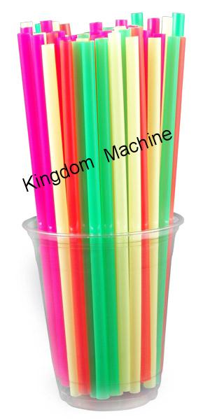 One Color Plastic Drinking Straw