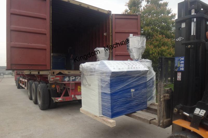 loading drinking straw machine